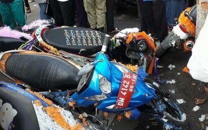Pawai 1 Muharram Diwarnai Insiden Tabrakan