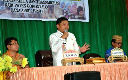 Pemkab Siap Ciptakan 5000 Wirausaha Baru Di Kabupaten Gorontalo