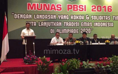 Gita Wirjawan mundur, Wiranto Terpilih Secara Aklamasi Nakhodai PP PBSI 2016-2020