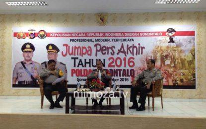Jumlah Angka Kriminalitas Di Gorontalo Menurun, Namun Kasus Korupsi Justru Meningkat