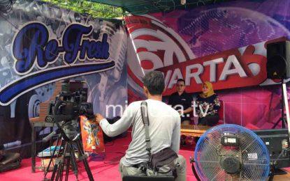 Mimoza TV Siarkan Langsung 2 Program dari Arena Pekan Raya Gorontalo