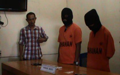 16 Paket Narkoba Dari Luar Gorontalo Diamankan Dari 2 Orang Tersangka
