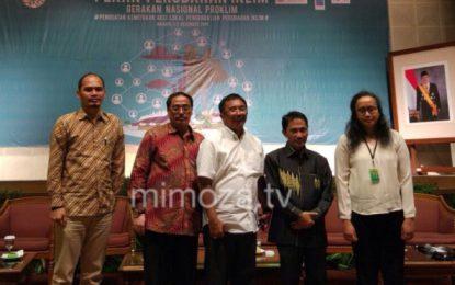 Bupati Gorontalo paparkan Strategi Perubahan Iklim Dihadapan Seluruh Kepala Daerah