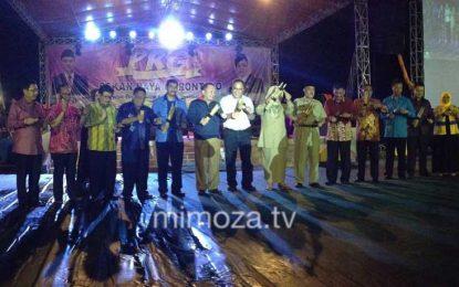 Ribuan Warga Gorontalo Antusias Hadiri Pembukaan Pekan Raya Gorontalo