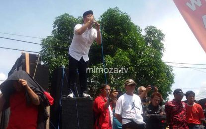 Massa Aksi Sebut KPU Telah Membohongi Bawaslu Dan Rakyat Gorontalo