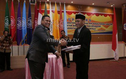 Memilih Fokus Studi, Eduart Wolok Mundur Dari Wakil Rektor II UNG