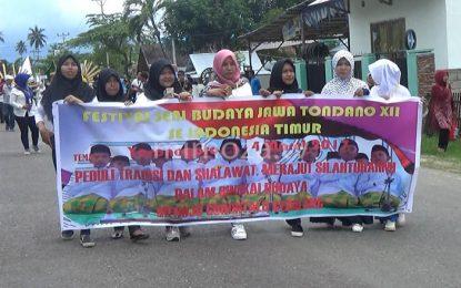 Pembukaan Festival Seni Budaya Jawa Tondano Ke XII