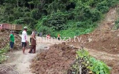 BPBD Gorontalo Utara Pastikan Jalur Trans Sulawesi Mulai Di Fungsikan