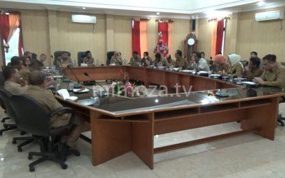 Nelson Pomalingo Pimpin Rapat Koordinasi Pembahasan Anggaran
