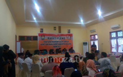 KPU Boalemo Resmi Tetapkan Darwis – Anas Sebagai Bupati Dan Wakil Bupati Terpilih