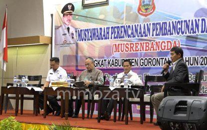 Musrenbangda Tingkat Kabupaten Gorontalo Tahun 2018