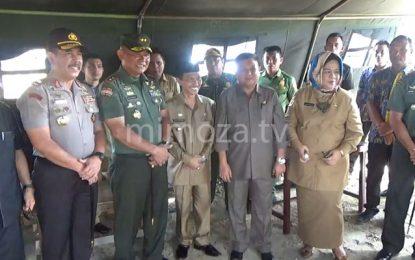 Bupati Hadiri Peletakan Batu Pertama Pembangunan Korem Gorontalo
