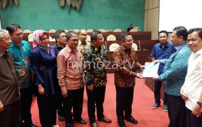 Walikota Paparkan Rencana Pembangunan Infrastruktur Kota Gorontalo Di DPR-RI