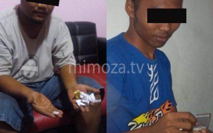 Satnarkoba Polres Gorontalo Kota Amankan 2 Pengguna Narkoba