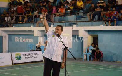 Pengprov PBSI Gorontalo Tentukan Peringkat Atlit Melalui Sirkuit Daerah