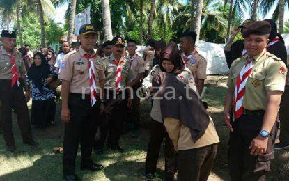 Idah Saidah Habibie Hadiri Pelantikan Angkatan Ke IV Saka Wirakartika