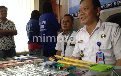 BNN Ringkus Bandar Narkoba Jaringan Sulawesi Tengah