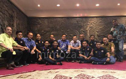 DPW Garda Pemuda Nasdem Gorontalo Temui Rahmat Gobel