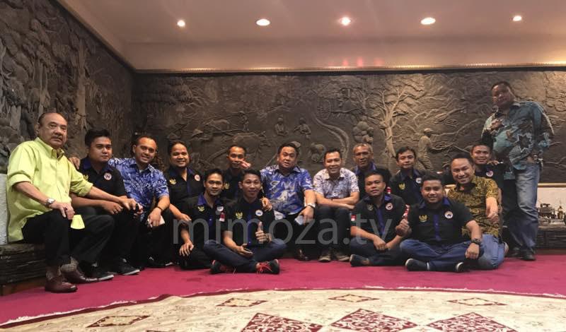 Rahmat Gobel bersama DPW Garda Nasdem Gorontalo