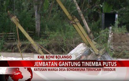 Warta 67 – (Video) Ratusan Warga Desa Bondawuna Terancam Terisolir