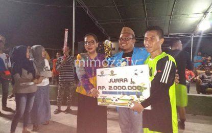 Senator DSH Tutup Gelaran Futsal Ramadhan Gorontalo Utara