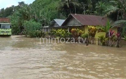 Banjir Kembali Rendam Belasan Rumah Di Botumoito