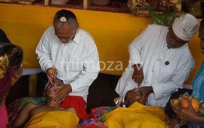 36 Warga Desa Bongo 4 Ikuti Ritual Potong Gigi Massal