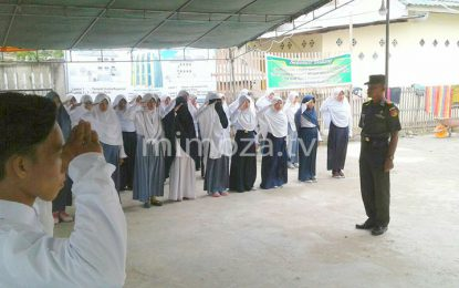 2 Anggota Babinsa Jadi Pemateri Di Ponpes Darul Arqan Moosalamati