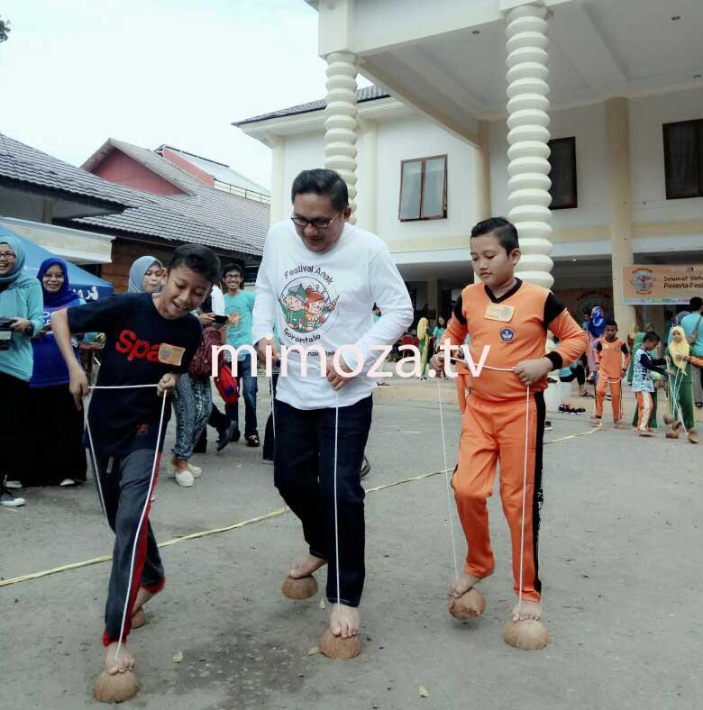 Gabungan Komunitas Pendidikan Gelar Festival Anak Gorontalo Mimoza Tv