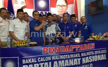 Daftar Di PAN, Elnino Buktikan Keseriusan Maju Di Pilwako