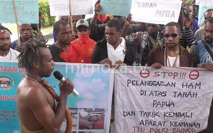Mahasiswa Desak Pemerintah Tarik Militer Dari Bumi Papua
