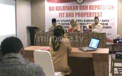 36 Calon Komisioner Panwas Kabupaten-Kota Ikuti Fit And Proper Test