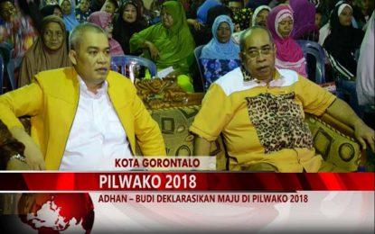 Warta 67 – (Video) Adhan – Budi Deklarasikan Maju Pilwako 2018
