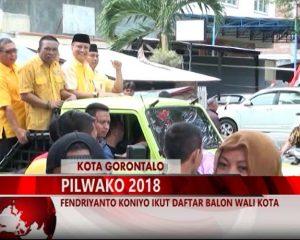 Warta 67 – (Video) Fendriyanto Koniyo Ikut Daftar Balon Wali Kota