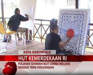 Warta 67 – (Video) Puluhan Seniman Ikut Lomba Melukis Dengan Tema Perjuangan