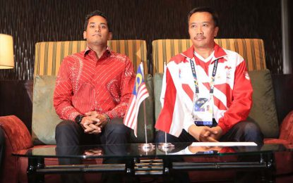 Pemerintah Malaysia Minta Maaf ke Rakyat Indonesia Dihadapan Menpora