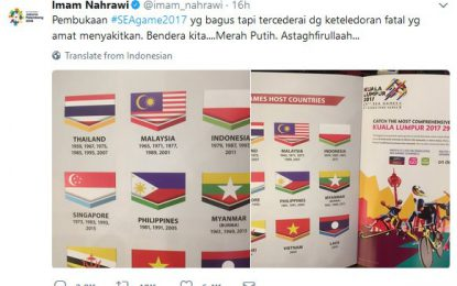 GP Nasdem Gorontalo Desak Pemerintah Protes Terkait Bendera Terbalik