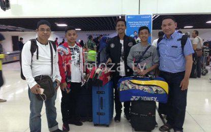 Ikuti Kejurnas Open Turnamen Di Jakarta, PBSI Gorontalo Kirim 4 Pemain Muda