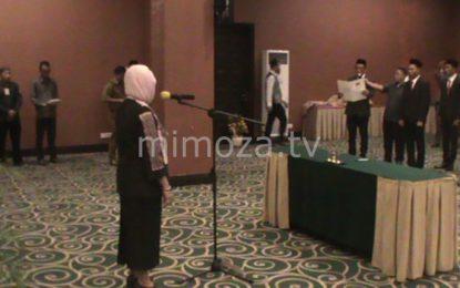 Seluruh Anggota Panwas Kabupaten/Kota Dilantik