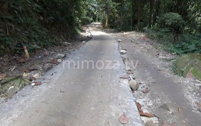 Pembangunan Jalan Ke Pinogu Oleh TNI Hampir Rampung