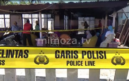 Pasca Kebakaran, Siswa SDN 1 Telaga Jaya Diliburkan