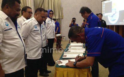 Ketua Pengcab Kabupaten Kota Dilantik, Syarif : POSSI Harus Promosikan Olahraga Ini