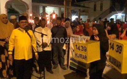 Pemkot Gelar Pawai Obor 1 Muharram 1439 Hijriah