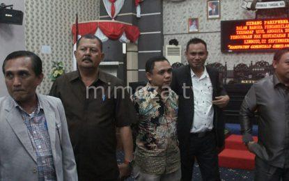 """Diduga Minta """"Fee Proyek"""", DPRD Kabgor Usulkan Fadli Hasan Diberhentikan Dari Jabatannya"""