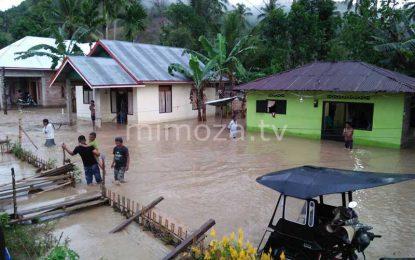 Ratusan Rumah di Kecamatan Tibawa di Terjang Banjir