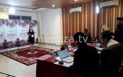 201 Peserta Ramaikan Audisi Liga Dangdut Indonesia di Gorontalo