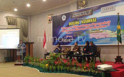 Dorong Perekonomian Gorontalo, Lamahu Gelar Dialog Nasional Prespektif Global