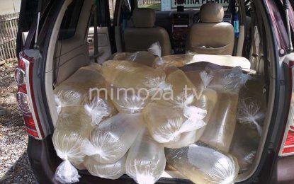 Resahkan Warga, Polsek Bone Amankan 700 liter Cap Tikus Di Perbatasan