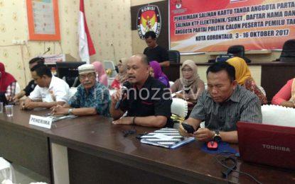 KPU Kota : Baru 4 Partai Yang Kembalikan Berkas Administrasi