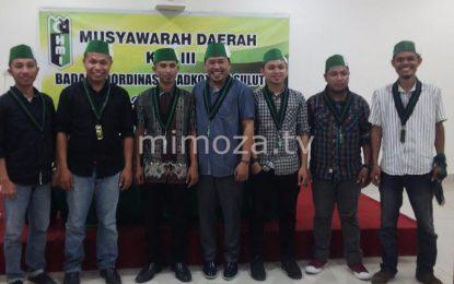 Sempat Tertunda Dua Tahun, Usman Terpilih Ketua Badko HMI Sulutgo